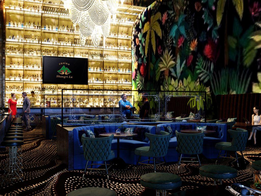 Restaurants, bars and cafés